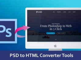 PSD to HTML Converter