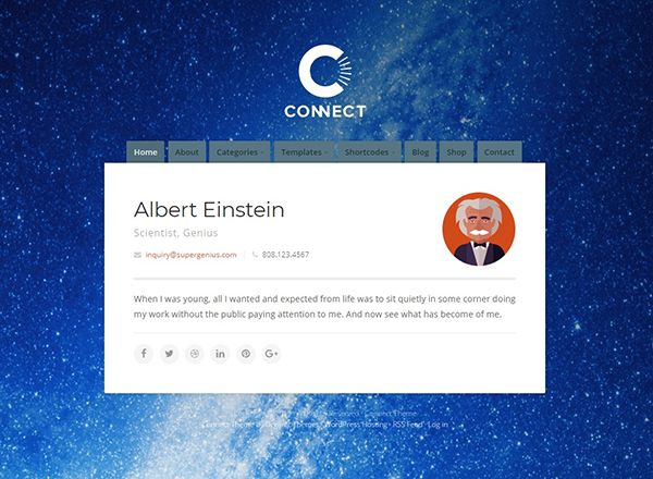 Connect Theme
