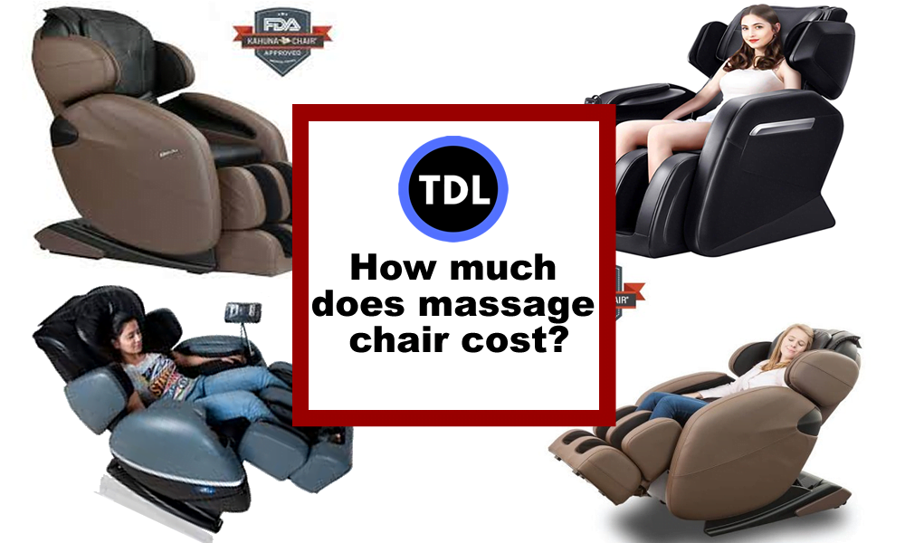 How much does massage chair cost?