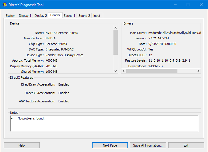 How To Check Graphics Card For Windows 10
