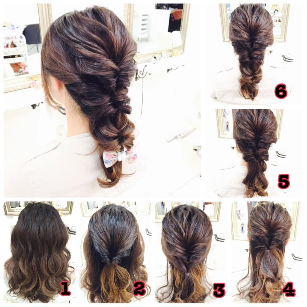 Easy hairstyles for women with wavy hair